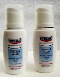 2 pk EUCERIN Sensitive Facial Skin REDNESS RELIEF Soothing M