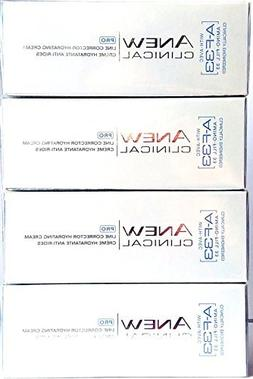 4 x AVON Anew Clinical Pro Line Corrector Hydrating Cream Wi