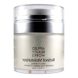 Applied Beauty Works Retinol Cream Moisturizer for Face and