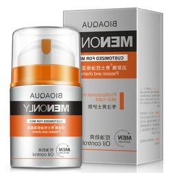 BIOAQUA Men's Moisturizing Face Cream Сlean Cool Skin Contr
