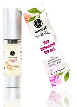 Cell Renewing Eye Gel Best for Under Eye Dark Circles, Puffi