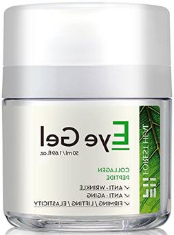 Eye Cream for Anti-aging, Eye Gel With Collagen Peptides and