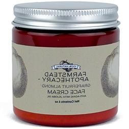 Farmstead Apothecary 100% Natural Anti-Aging Face Cream with