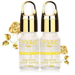 KINGWO Gold Foil Essence Serum Face Lift Anti-Aging Anti-red