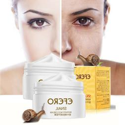 USA Snail Face Cream Anti-aging Wrinkles Moisturizing Whiten
