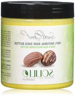 African Shea Butter Pure Raw Unrefined 16 oz. by smellgood