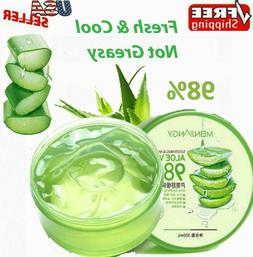 Aloe Vera 98% Moisturizing Gel True Natural Extract Soothing