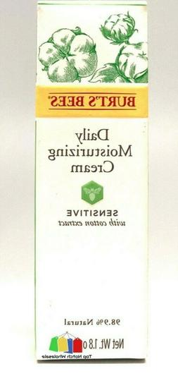 Burt's Bees Daily Moisturizer Sensitive with Cotton Extract