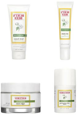 Burt's Bees Sensitive Skincare Products, 4 Types