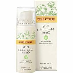 Burts Bees Daily Face Moisturizer for Sensitive Skin