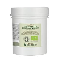 Naissance Organic Cocoa Butter Unrefined 3.5 oz. Use for DIY