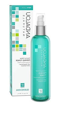 Andalou Naturals Coconut Water Firming Toner, 6 Ounce Hydrat