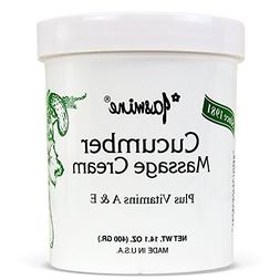Jasmine Cucumber Massage Cream. Keep Your Face and Body Fres