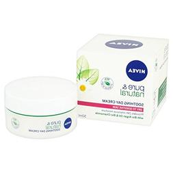 Nivea Pure & Natural Day Cream Dry & Sensitive 50ml