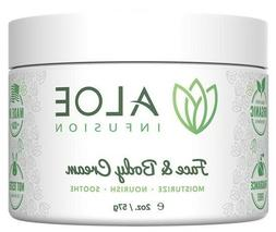 Aloe Infusion Face & Body Moisturizer Cream Soothing Hydrati