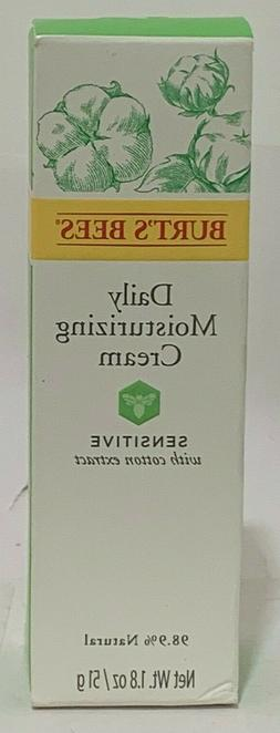 Burt's Bees Facial Care Sensitive Daily Moisturizing Cream 1