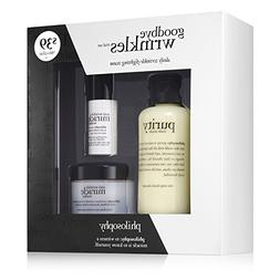 Philosophy 3-Piece Goodbye Wrinkles Trial Set
