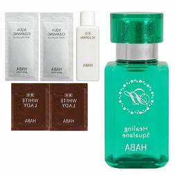 HABA Healing Squalane Forest of Emerald ~ 30 ml with sample