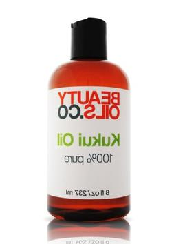 Kukui Oil - 100% Pure Vegan Face and Body Moisturizer for Dr