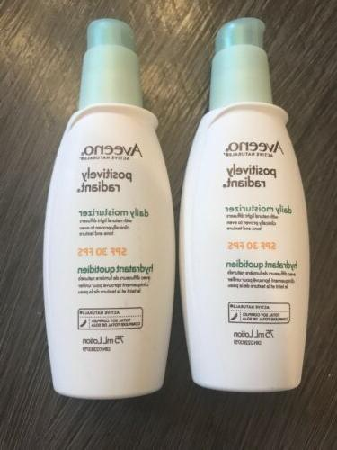 2 positively radiant daily moisturizer with spf