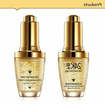 30ml 24K Gold Essence Moisturizer Anti Facial Serum