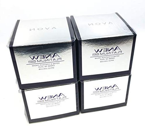 4 x AVON Anew Platinum Day Cream 50ml - 1.7oz SET !