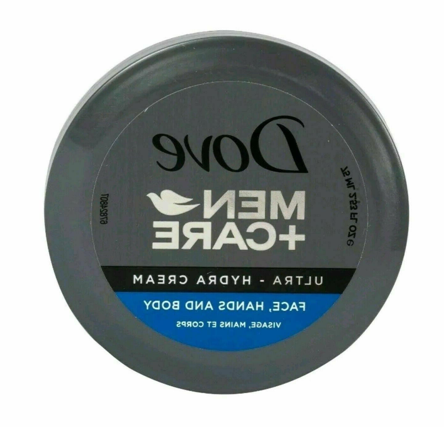 4 MEN + Ultra - Hydra Cream For Face, Hands Oz SEALED