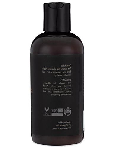 Aftershave Serum for Razor Bumps Hairs Natural to Prevent Burn, Soothe Inflammation & Hair Treatment Root, Burdock