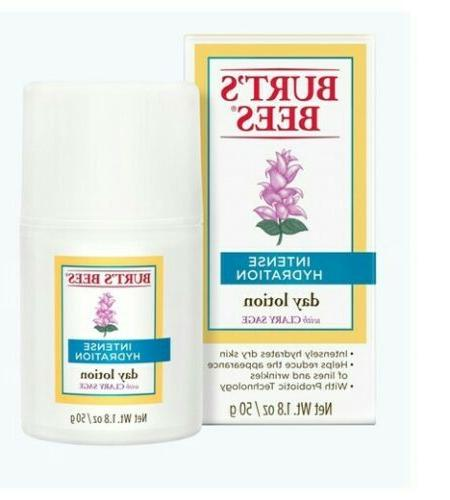 Burts's Bees Day Lotion w Sage 1.8 50 g New