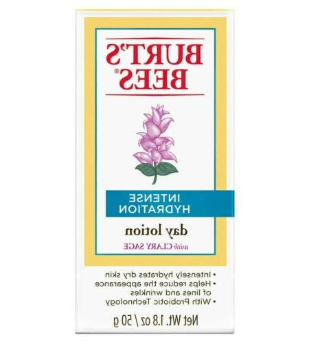 Burts's Bees Intense Hydration Day Lotion w Clary Sage 1.8 o