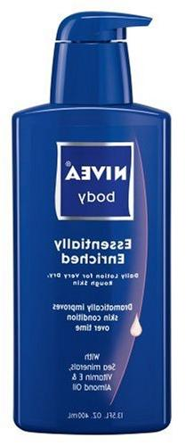 Nivea Essentially Enriched Daily Lotion Almond Oil Sea Miner