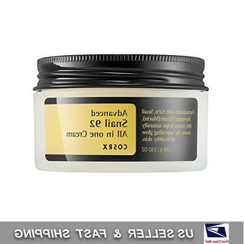 COSRX Advanced Snail 92 All In One Cream 100ml - US SELLER