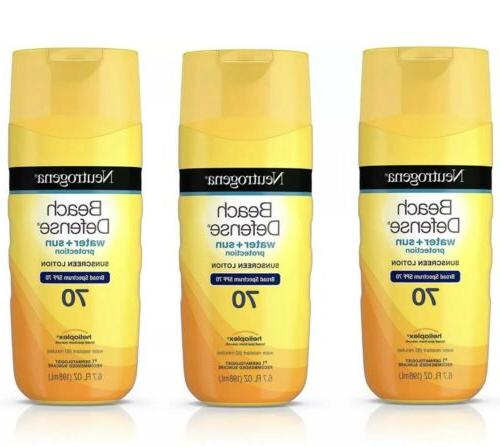 Neutrogena Beach Defense Water + Sun Barrier Lotion Sunscree