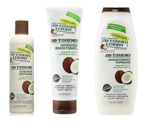 coconut oil formula haircare set
