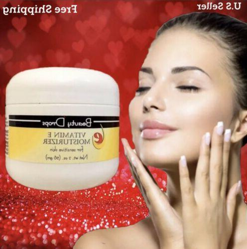 Beauty Drops Face Cream With Vitamin E Moisturizer For Sensi