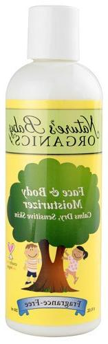 Nature's Baby Organics Face & Body Moisturizer Fragrance Fre
