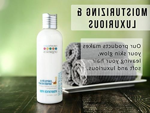 Nature's Baby Face & Body Free, Aloe Oil Lotion for Adults! Gentle, Rich,   Organic, No Synthetics, Parabens,