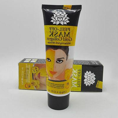 New Gold Collagen Facial Face Anti Aging Remove Care!