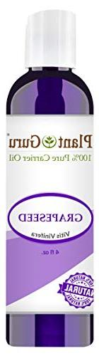 Grapeseed Oil 4 oz. Cold Pressed 100% Pure Organic Grape See
