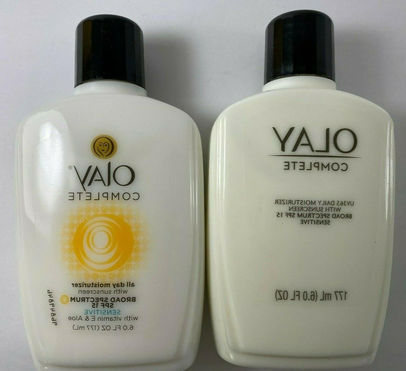 lot of 2 complete all day moisturizer