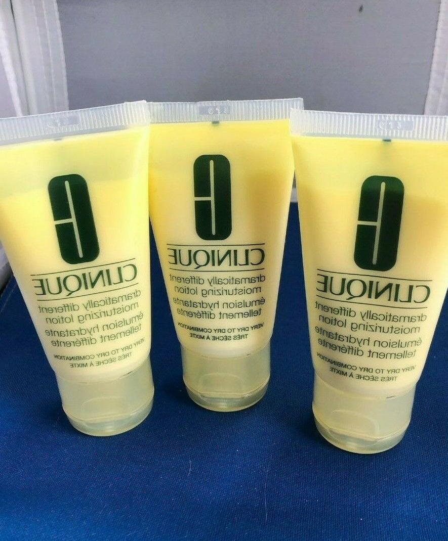 lot of 4 dramatically different moisturizing lotion