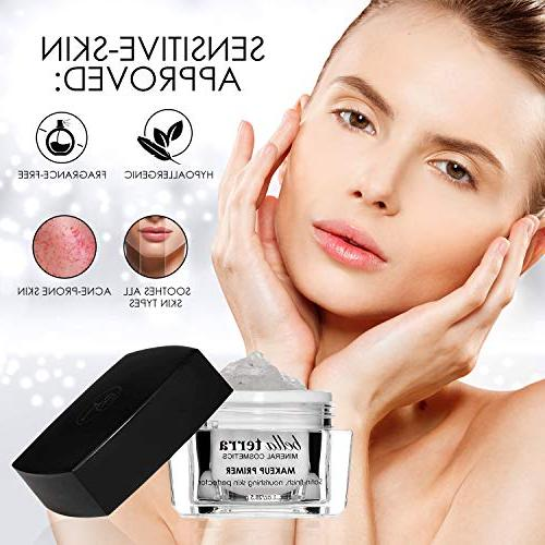 Face Minimizer Face Base - Fine Lines Hydrating Satin -Helps of Makeup Mineral - Oily Residue on Skin