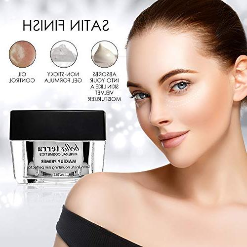 Face - Minimizer Foundation Face - Erases and Fine Satin Finish of Makeup - Mineral Oily Residue