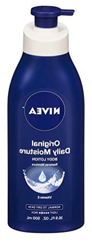 Nivea Lotion Original Daily Moisture 16.9 Ounce Pump