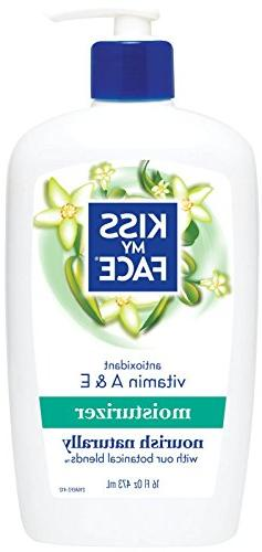 Natural Body Moisturizer with Vitamins A & E-16,oz.