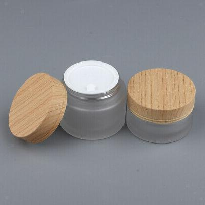 Portable Face Makeup Pots Container Cosmetic Jars