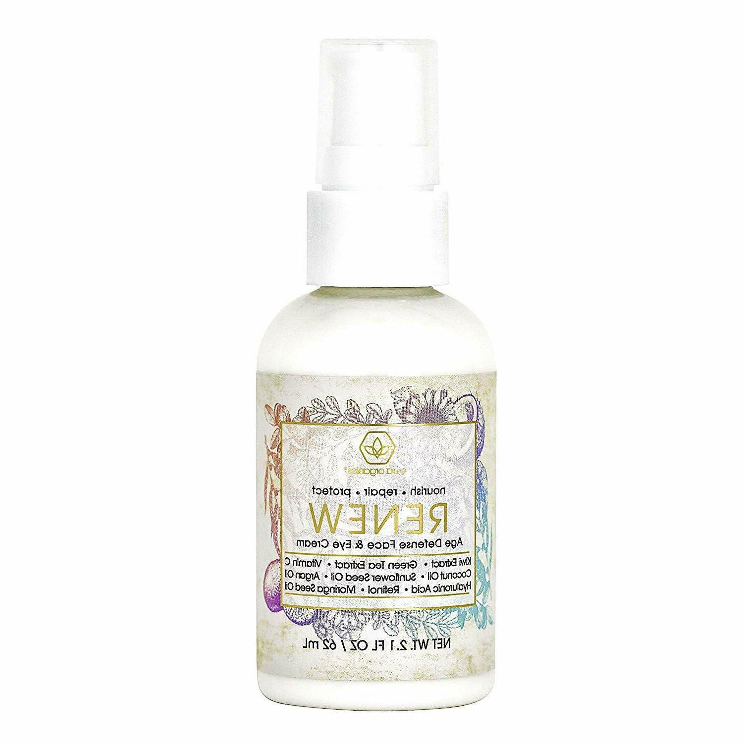 renew anti aging face and eye moisturizer