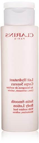 Clarins Satin Smooth Body Lotion for Unisex, 7 Ounce