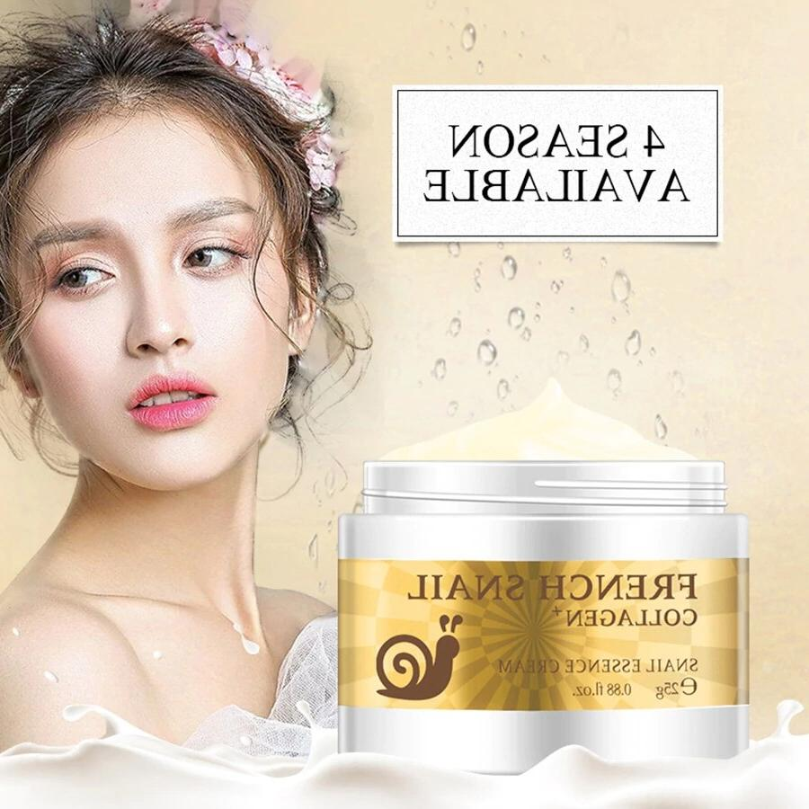 Snail <font><b>Face</b></font> Scar Removal Anti-Ageing Blackhead Acne Brighteninge Cream Marks TSLM1