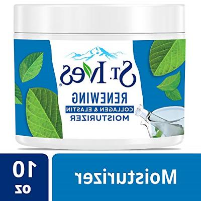 St. Ives Facial Moisturizer RENEWING for Dry Skin w/ Collage